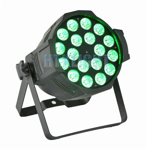 Indoor RGB LED Stage Light , Led Stage Wash Lighting With Par Led 18x12w