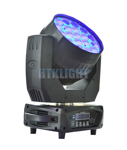 MAC Aura 19 X 15W RGBW LED Zoom Moving Head For Stage , Events